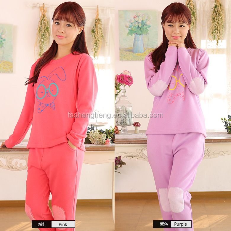elegant new design night pajamas shirt AK085