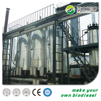 automatic and continuous biodiesel plant recycling waste engine oil waste plastic biodiesel production plant