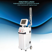 Fractional co2 laser equipment / skin tightening device home use