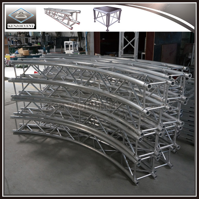 Aluminum Arched Semi Circle Roof Truss with Canopy