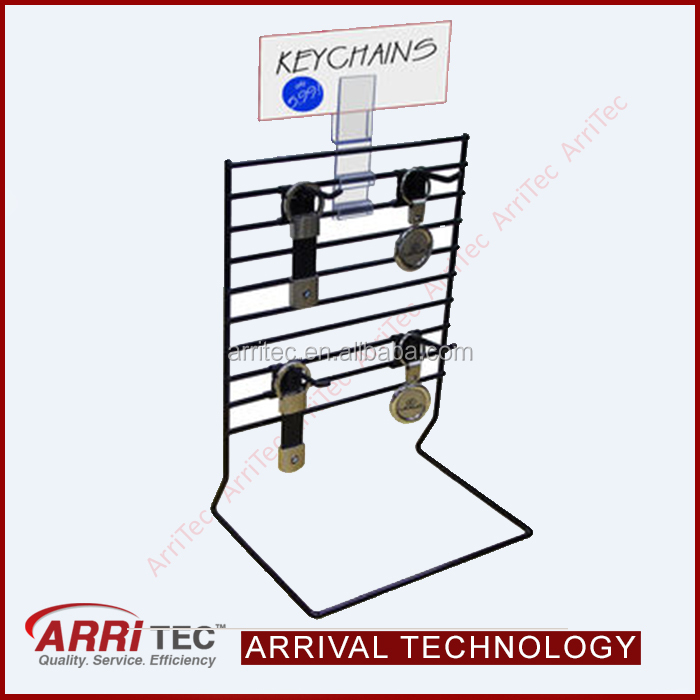 New design counter keychains display rack stand