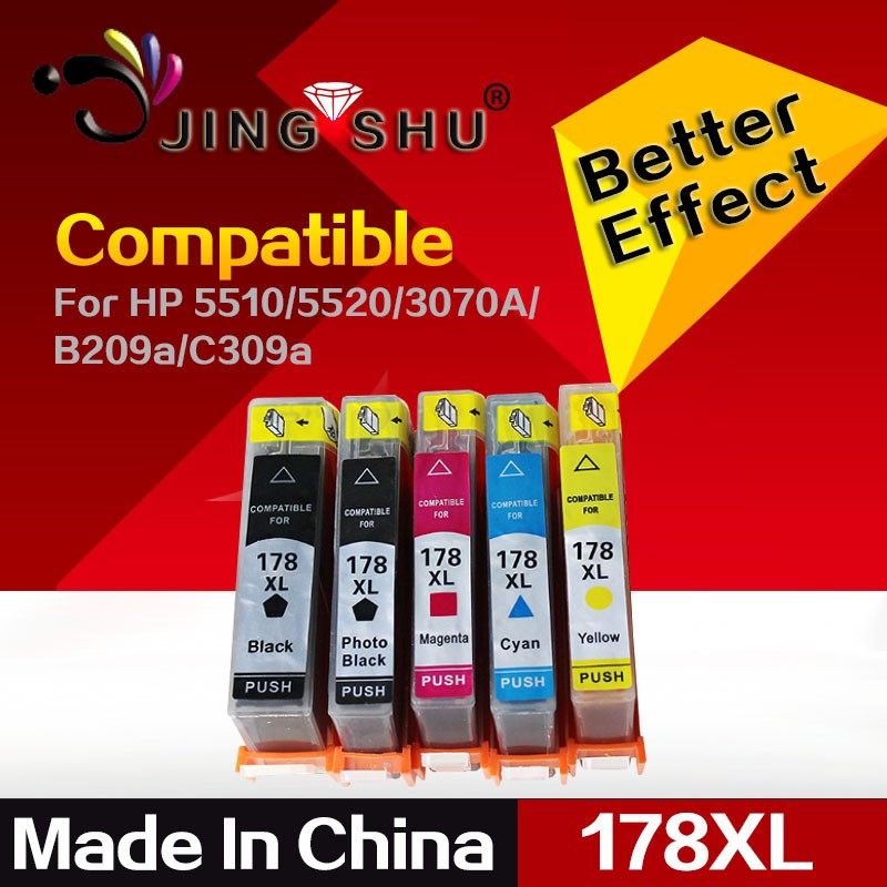 ink cartridge 178XL replacement for HP B8500 B8550 B8558 C309 C5300 C5324 C5370 C5373 C5380 C5383 C5390 C6324 C6340 6350 printer