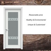 Simple gate design for frosted glass doors
