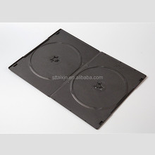 Shantou plastic factory 5mm black slim cd/dvd case mould