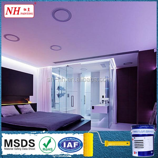 Water based acrylic emulsion anti-fungus performance interior wall paint