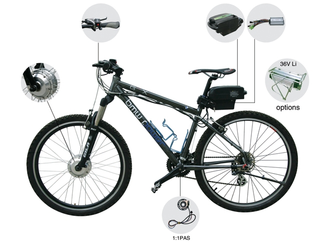 250w mxus electric bike conversion kit/ebike motor for bicycle