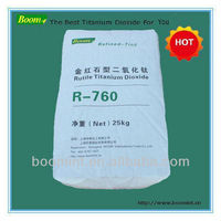 Brighter, Cleaner White Rutile Titanium Doxide Tio2 R-760