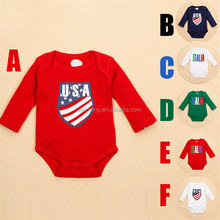 2015 new product long sleeve triangle baby romper climbing clothes newborn baby coveralls