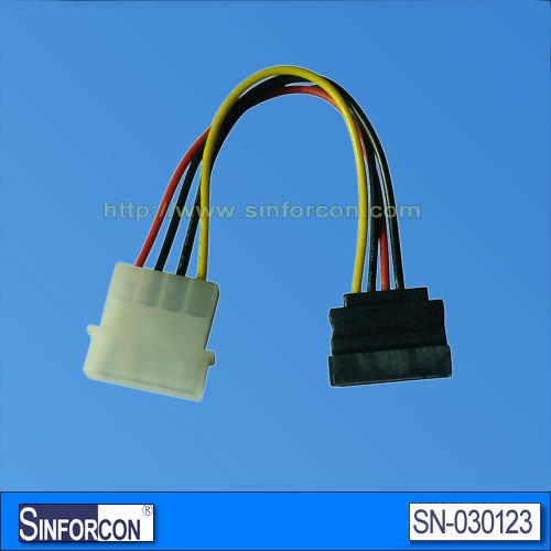 Industrial computer serial extension cable, Serial extension cable with bracket