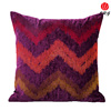 chenille wave pattern cushion cover