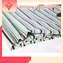 Fine Price 100% Cotton Poplin Stripe Printed Fabric