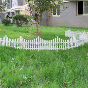 plastic garden fence decorative