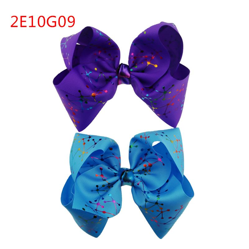Women girl fashion diamond ribbon dot color belt butterfly children Christmas gift hair bow