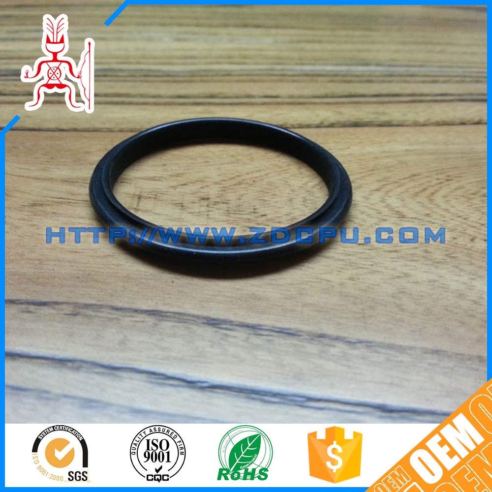 High performance silicone rubber window gasket