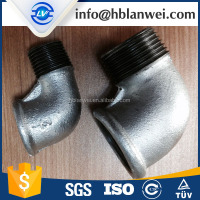 Equal Shape and Bushing Type Malleable Iron Pipe Fitting Male Female Elbow
