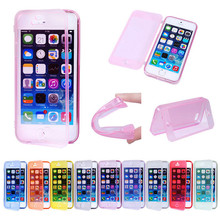 New for iphone 5 TPU case with cover,for iphone 5 case