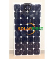 120W semi flexible solar panel sale high efficiency price solar panel