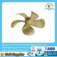 Alloy 4/5/6 Blade Marine fixed pitch propeller for bow thruster
