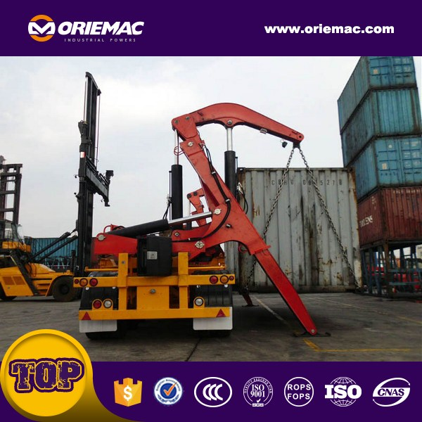 Oriemac 37ton side lifter truck/side loader container MQH37