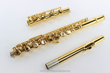 The best flute 17 slot gold-plated woodwind instrument professional flute