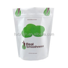 china supplier plastic stand up pouch with zipper