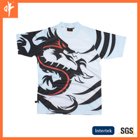men's casual shirt in festival.traditional custom dragon design in china,fashion style at 2016 autumn.sublimation polo t-shirts