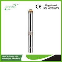 made in China 0.5hp 4 inch submersible water well pump