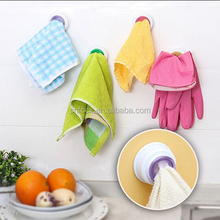 Kitchen Wash Cloth Clip Holder / Hand Towel Hanger / kitchen dish towel rack