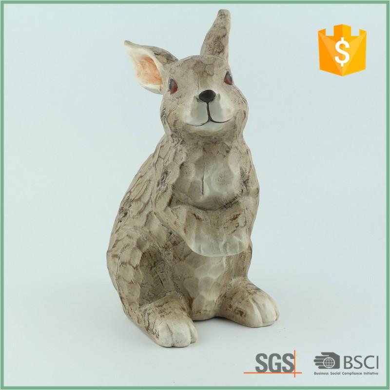 Terra Cotta Rabbit Bunny Outdoor Garden Decor Statues Sculpture   Buy Terra  Cotta Garden Statues,Wooden Rabbit Sculpture,Lawn Ornaments Product On  Alibaba. ...