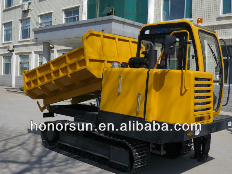 5 ton tracked transporter with CE/tracked dumper