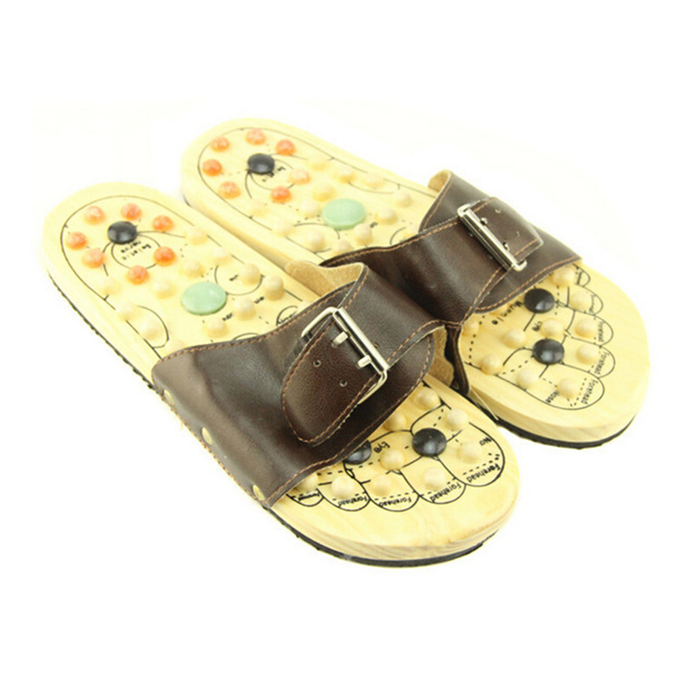 FQ brand hot sell portable personal wooden slipper foot massager