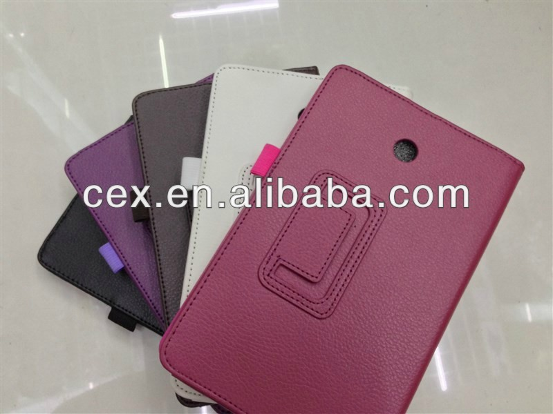 For ASUS Fonepad HD 7 ME372CG tablet pc Folio PU Leather Stand Cover Case