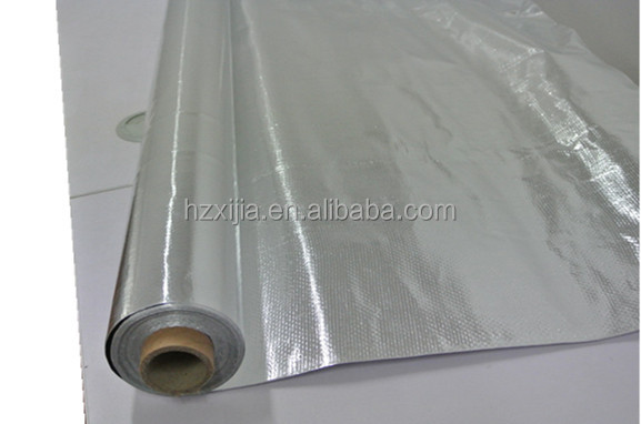 Hot Sales Factory Supplied double sided reflective aluminum foil insulation, heat insulation material with aluminum foil