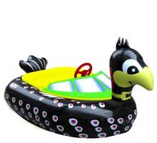 Hot-selling PVC Inflatable Water Bumper Boat/Electric Paddle Boat For Adult