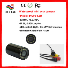 waterproof mini micro camera LED underwater hidden camera for sewer