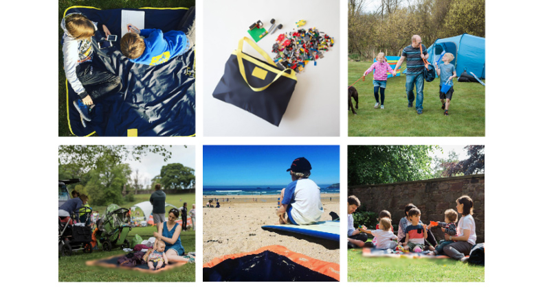 2018 Multi-function Waterproof Outdoor Camping beach outings mat picnic blanket beach blanket outdoor camping mat for aldi