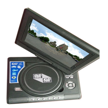 7 inch portable DVD VCD players