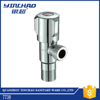 Brass body ABS handle angle stop valve