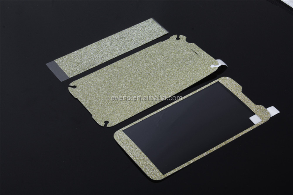 Full Body Stickers for Samsung J5 Shiny Glitter Sparkling Diamond Film Decals Matte Screen Protector