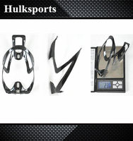 Excellent 100% carbon, 3k carbon fiber bike/bicycle water bottle cage with best price