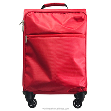 Wholesale Fabric Trolley bag Light Weight Luggage Bag Cheap