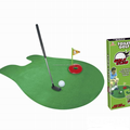 Factory direct toilet golf baby toys