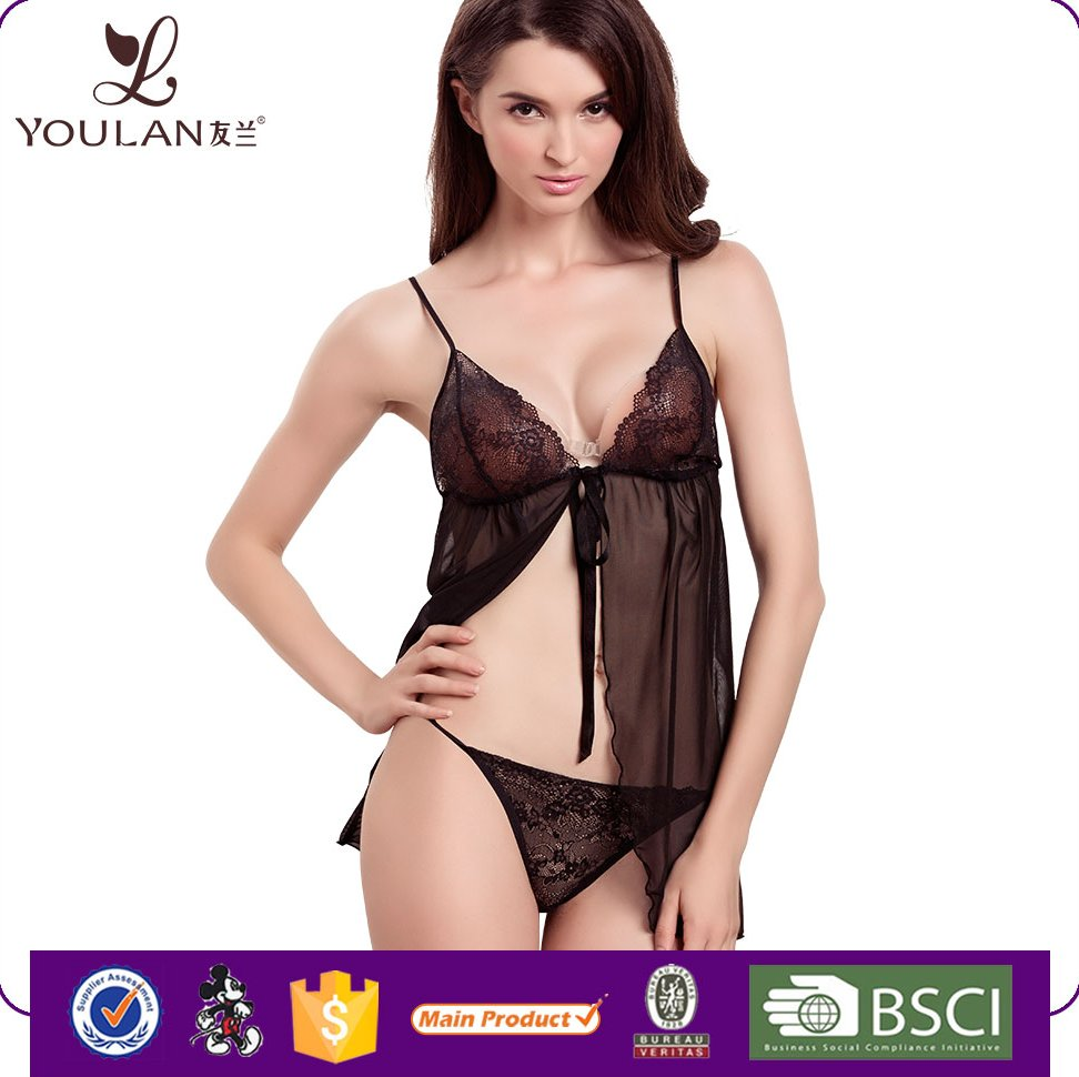 Low Price Fitness Mature Women Nude China Manufactures Hot Sexy Transparent Nighty Sexy Lingerie