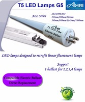 T5 LED TUBE G5;Retrofit t5 G5 Tube (ECG/ EVG);T5 led lamps direct replace fluorescent