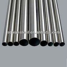 Industrial fluid conveying stainless steel welded pipes