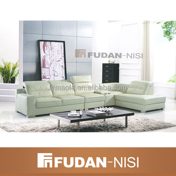 simple and luxury malaysia made home furniture leather corner sofa