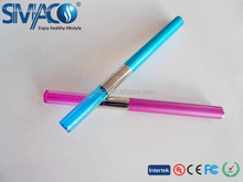 Best vaporizer electronic cigarete, e-cigarette lady sexy e cig with dual coil cartomizer