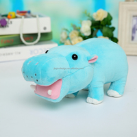 wholesale cute kids gift soft plush hippo toys