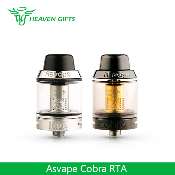 2017 New Vape 0.5ohm Ni80 coil 3.8ml Asvape Cobra RTA atomizer