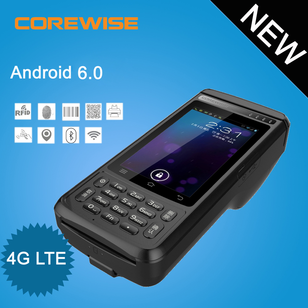 Portable Android pos terminal 58mm thermal portable used pos printers